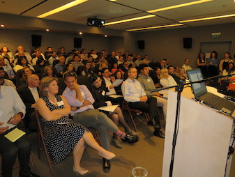 Executives from Israel´s leading financial institutions were in attendance